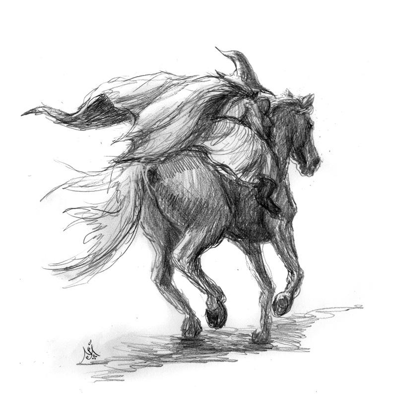 13_05_4180s_Gandalf_pippin_and_shadowfax001_BW_enh_800