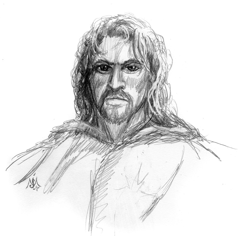 10_09_Faramir_sketch001_enh_BW_lores