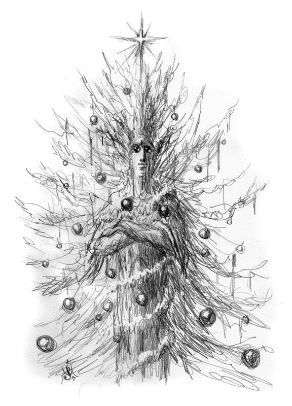 11_12_Quickbeam_christmas_sketch001_BW_enh_800