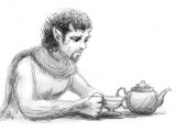 Tumnus at tea
