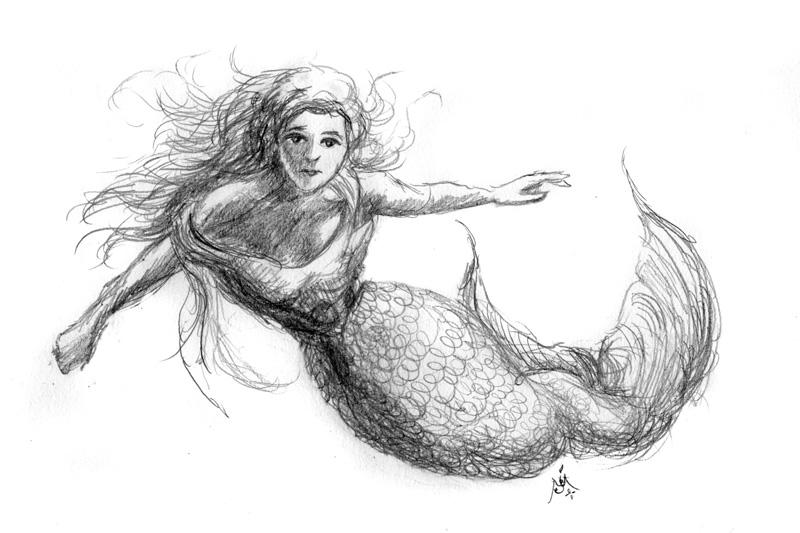 14_05_4326s_Mermaid_sketch001_BW_enh_800