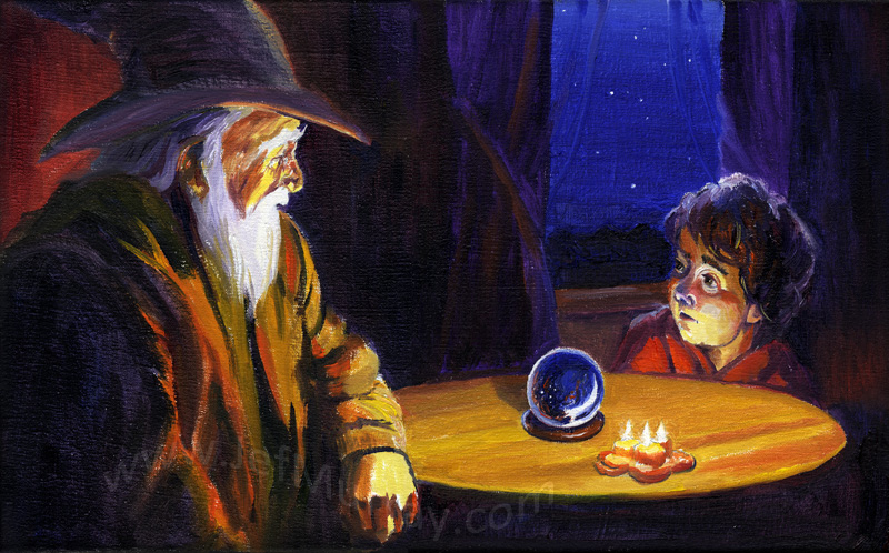 'The Wizard's Tale' by Jef Murray
